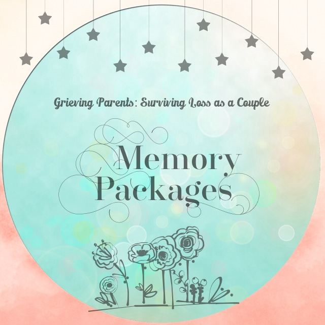 "Memory Packages of the book ""Grieving Parents: Surviving Loss as a Couple"" ~ give away the book 'in memory' of your child"