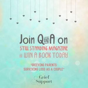 """Win the Book """"Grieving Parents: Surviving Loss as a Couple"""" www.grievingparents.net"""