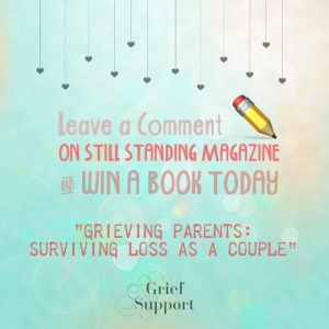 """Win a book """"Grieving Parents: Surviving Loss as a Couple"""" www.grievingparents.net"""