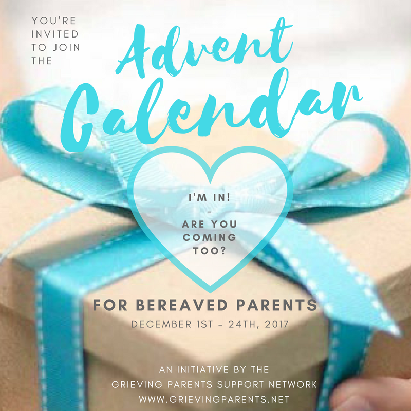Advent Calendar for the Bereaved Parent